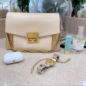 Givenchy GV3 Small Beige Handbag
